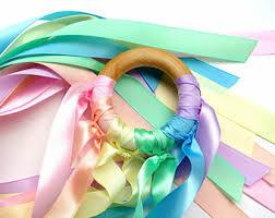 ribbon streamers ribbon streamer etsy