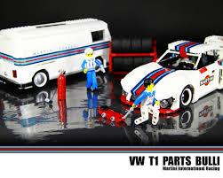 martini racing lego vw t1 parts bulli martini international racing a photo on