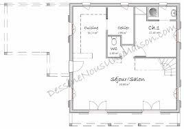 plan de maison avec cuisine ouverte plan cuisine américaine cuisine en image