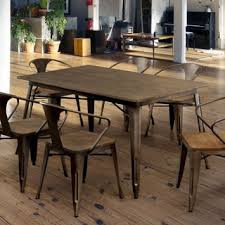 carbon loft boyer industrial farmhouse 59 inch dining table free