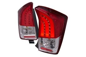 spec d tail lights spec d tuning toyota prius 2010 2011 red led tail lights