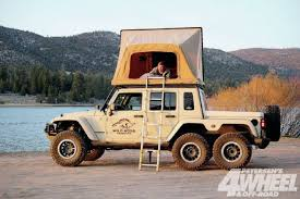 Hardtop Awnings For Trailers A Guide To Vehicle Attached Tents U0026 Trailers 4 Wheel U0026 Off Road