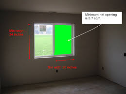 residential code requirement for egress window inspect2code