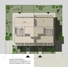 case moderne cuplate plan de situatie duplex single family homes