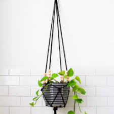 Diy Hanging Planters by 10 Easy Ways To Make Hanging Planters