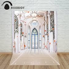 Church Backdrops Aliexpress Com Buy Allenjoy Wedding Photography Backdrops