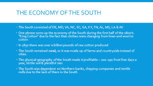 chapter 8 market revolution section 3 the southern section ppt