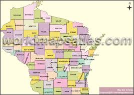wisconsin map usa political map of wisconsin wisconsin political map