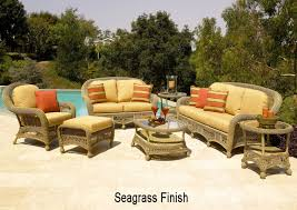 Patio Wicker Furniture - montego bay all weather wicker furniture set