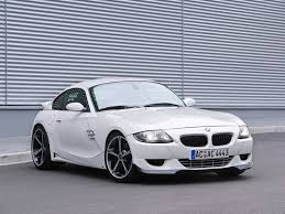 bmw z4 m coupe 2007 ac schnitzer bmw m coupe front and passenger side