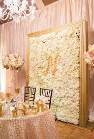 wedding backdrop monogram wedding flower wall ideas monograms flower and floral