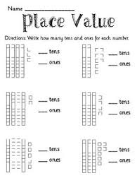 1st grade place value worksheets free worksheets library
