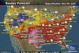map of us weather forecast us map weather forecast article 1391620 0c50219700000578 123 634