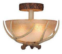 Rustic Ceiling Light Fixture Rustic Light Fixtures Cabin Lighting