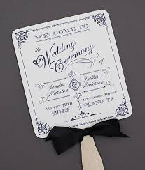 wedding fans programs best 25 fan wedding programs ideas on diy wedding