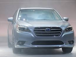 Subaru Legacy Redesign 2015 Subaru Legacy Debuts At 2014 Chicago Auto Show Live Photos