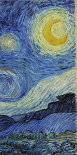 Starry Night Nuit Etoilee Very - van gogh the starry night detail ca 1889 oil on canvas