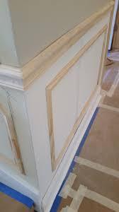 faux chair rail molding u2013 home design