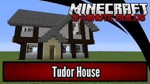 minecraft 15 minute builds tudor house youtube