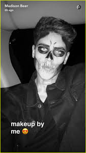Halloween Makeup Me by Jack Gilinsky Let Madison Beer Do His Halloween Makeup Photo