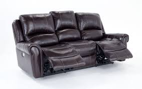 Sofa And Recliner Leather Power Reclining Sofa And Power Reclining Console