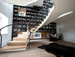 20 ways to turn stairs into an amazing bookshelf library