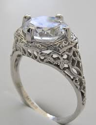Vintage Wedding Ring Sets by Vintage Wedding Rings For Sale Gia Certified 1 Carat Vintage