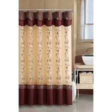 Double Swag Shower Curtain With Valance Shower Curtains With Valance Country Curtains Checkered Valance
