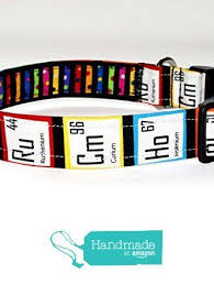 periodic table of dogs periodic table dog collar black dog collar gift for geek or nerd