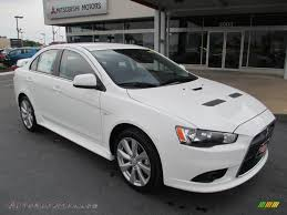 white mitsubishi lancer 2014 mitsubishi lancer ralliart awc in wicked white 020861