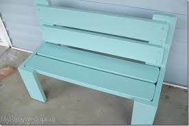 Plans To Make A Park Bench by Headboard Bench Ideas 25 Projects My Repurposed Life
