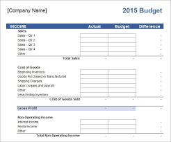 free business budget template sanjonmotel