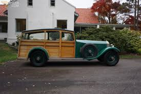 roll royce rod classic 1927 rolls royce phantom station wagon estate car for sale