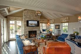Red Living Room Wainscoting Design Ideas  Pictures Zillow Digs - Red living room design ideas