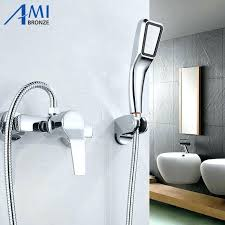 Bathroom Parts Suppliers Bath Tub Faucet Telephone Style Bathtub Faucet With Hand Shower