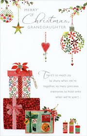 gifts ornaments granddaughter card by freedom greetings