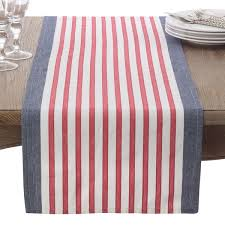 red and white table runner american flag usa red white blue stripe cotton table runner free