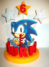sonic cake topper sonic cake topper cake decor cake ideas by prayface net