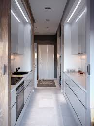 Apartment Galley Kitchen Bold Decor In Small Spaces 3 Homes Under 50 Square Meters