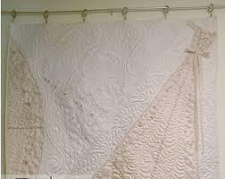 wedding dress quilt wedding dress quilt etsy