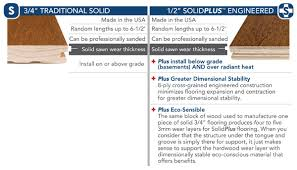 somerset floors solid vs solidplus