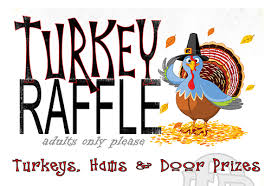 annual turkey raffle plainfield protection district