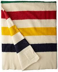 amazon black friday points amazon com hudson bay 6 point blanket natural with multi stripes