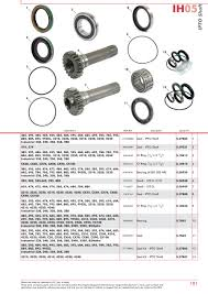 case ih catalogue transmission u0026 pto page 107 sparex parts
