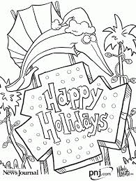 christmas themed coloring pages coloring
