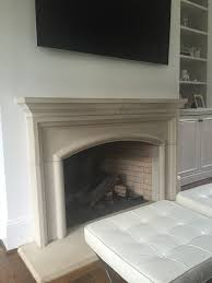 painting my limestone fireplace yes or no