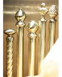 Polished Chrome Curtain Rods Brass Curtain Rods U2013 Interiordecorating Com