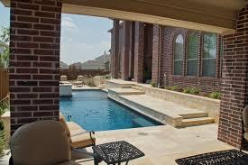 elegantly beautiful travertine pavers pool deck to feast your eyes
