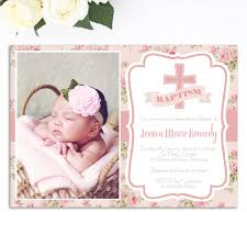 girls baptism invitation chistening invite christening first