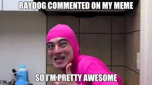 My Meme Maker - pink guy thumbs up imgflip